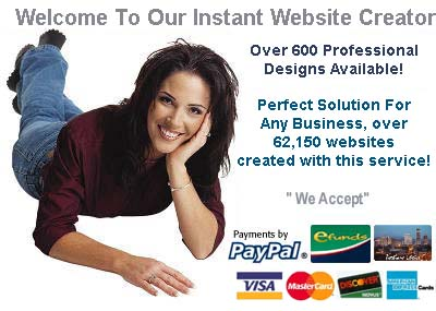 Award winning website creator easy to use